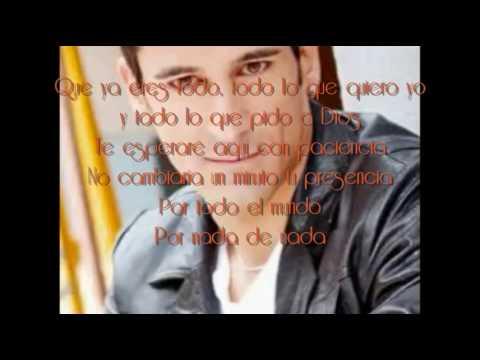Nada De Nada - Marco Dí Mauro (Con Letra)