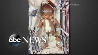Jimmy Kimmel reveals his newborn son's health scare