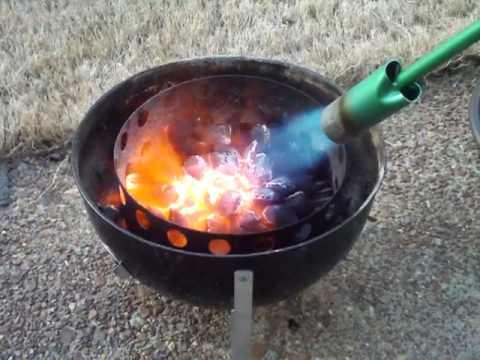 Propane Weed Torch Lighting Charcoal Youtube