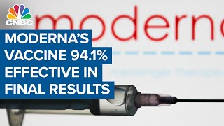 Moderna's Covid-19 vaccine is 94.1% effective in final results