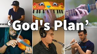 Who Played It Better: God's Plan (Guitar, Piano, Violin, Saxophone, Cat Piano, Calculator, Trumpet)