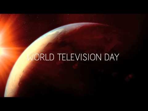 "Video: Television industry unites for United Nations' ""World Television Day"""