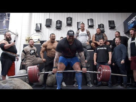 1042LB/473KG DEADLIFT HEAVIEST EVER DONE IN THE GYM