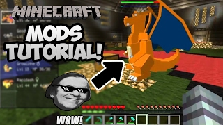 How To Get MODS on MINECRAFT For FREE! (Cracked & Premium) (2017)