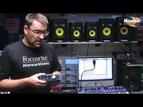 Focusrite iTrack Solo iPad and USB Audio Interface @ Nevada Music UK