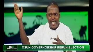 TVC Breakfast 27th September 2018| Osun governorship rerun election