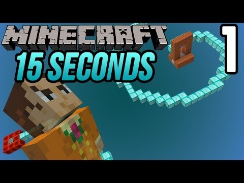 15 Seconds - 1 -Minecraft Parkour Map thumbnail
