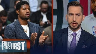 Clippers won't be best team in NBA even with return of Paul George — Nick | NBA | FIRST THINGS FIRST