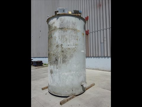Used- Tank, Approximate 2,000 Gallon, 304 Stainless Steel - stock # 48243037