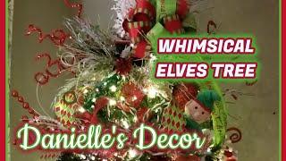 Whimsical Elves Tree