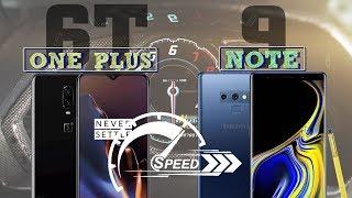 Bất ngờ với kết quả Speedtest One Plus 6T vs Galaxy Note 9