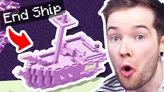 I Found The RARE END SHIP in Minecraft Hardcore!