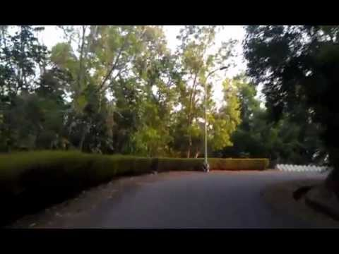 IIM Kozhikode Campus View - Entrance Gate to Academic Block and Hostels