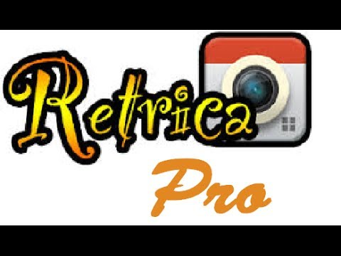 RETRICA FREE PRO UPGRADE ANDROID!! [NO ROOT!!] tutorial ITA