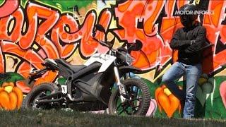 Essai vidéo de la moto électrique Zero DS