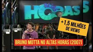 Bruno Motta no Altas Horas