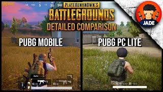 PUBG PC Lite vs PUBG Mobile (Tencent Gaming Buddy) Detailed Comparison - Which one is better ?? 🔥🔥