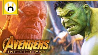 Why Hulk Was Afraid in Avengers Infinity War
