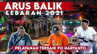 30 Bis Tim Muria Raya Arus Balik Lebaran - Efek Terminal Tutup Po Haryanto Transit Di Garasi Kudus