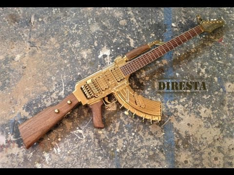 ✔ DiResta AK47 Guitar (AKA the GATTAR)
