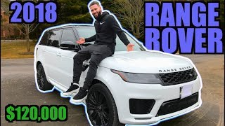 REVEALING MY NEW 2018 RANGE ROVER SPORT   V8 SUPERCHARGED DYNAMIC