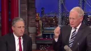 Jon Stewart on David Letterman