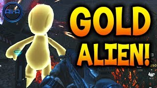 EXTINCTION EASTER EGG! - Call of Duty Ghosts SECRET! - GOLD ALIEN! - (COD Ghost Gameplay)