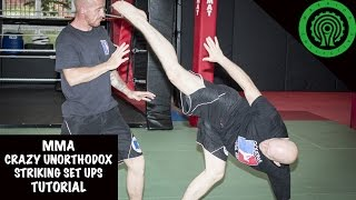 MMA Crazy Unorthodox Striking Tutorial