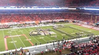 OSU Marching Band - Superman at Orange Bowl