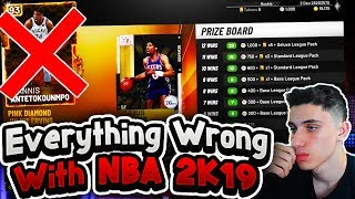 Everything Wrong With NBA 2K19 MyTeam
