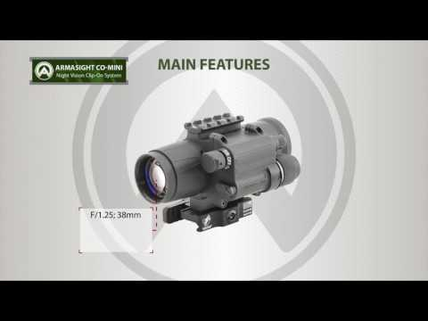 ARMASIGHT CO-Mini Day/Night Vision Clip-On system