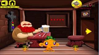 Hướng dẫn chơi game Chú khỉ buồn tìm yêu tinh - MONKEY GO HAPPY LEPRECHAUNS