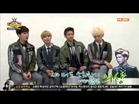 [ENG SUB/130501] Show Champion SHINee Special Interview