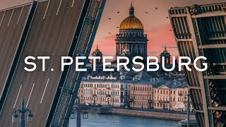 The city of white nights - Saint Petersburg drone video Timelab.pro// Город белых ночей, аэросъемка