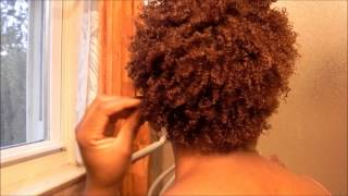 Super Defined Wash and Go Using Eco Styler Gel