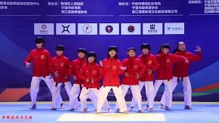 2017 Elite Challenge Taekwondo Dance,Junior 1st,Dragons Kids, 大众跆拳道 精英挑战赛 跆拳舞 少年组 冠军 宁波队 龙拳小子 林秋楠