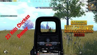 22 Kills Chicken Dinner | Road To Top 100 | HK Gaming YouTube