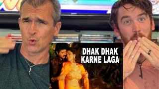 Dhak Dhak Karne Laga - BETA - REACTION!!| Madhuri Dixit | Anil Kapoor