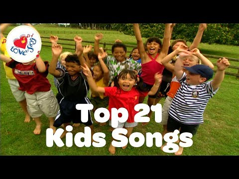 Top 21 Best Songs for Kids Playlist | Children Love to Sing Action Songs