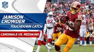 Cousins Capitalizes on Fumble Recovery w/ TD Toss to Crowder! | Cardinals vs. Redskins | NFL Wk 15