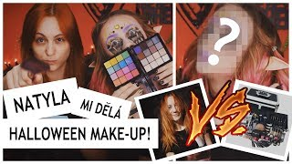 Evzuu - NATYLA MI DĚLÁ HALLOWEENSKÝ MAKE-UP! - Zdroj: