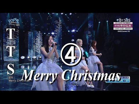 151206 SNSD TTS ❹ Merry Christmas Live 【English】【中繁】CC open 1080p60