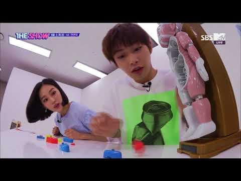 JENO, Yeeun, LONGGUO, THE SHOW MINI GAME [THE SHOW 180626]