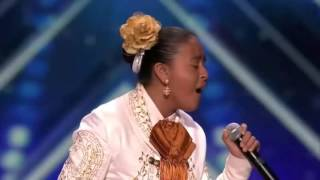 This 13-Year Old Girl Sings Like Old Mariachi Singer & Leaves The Judges Speechless