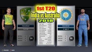 1st T20 India vs Australia 2018 Brisbane | 2 overs full macth highlights