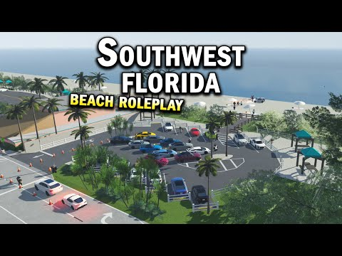 BEACH ROLEPLAY!!! || ROBLOX - Southwest Florida Roleplay