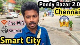 Smartcity - Pondy Bazar || T.Nagar || Chennai Vlogger || ஸ்மார்ட் சிட்டி - பாண்டி பஜார்