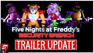 FNAF Security Breach Trailer at Nvidia UPDATE! Steel Wool Studios FNAF Security Breach NVIDIA Event!