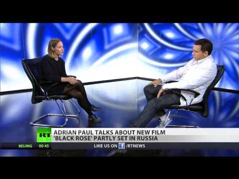 Adrian Paul talks about new film 'Black Rose' partly set in Russia ...