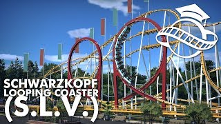 Planet Coaster College - Schwarzkopf Looping Coaster (S.L.V.) Tutorial
